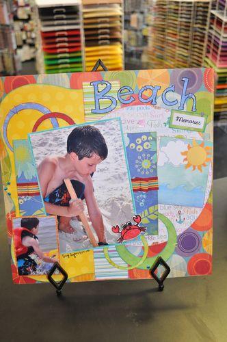 July Class Beach 001